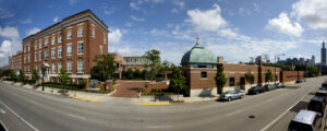 Panoramic view of Mercy Home
