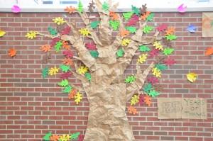 Thanksgiving Thankful Tree 2015