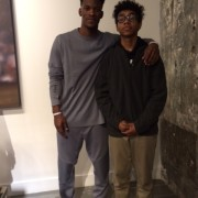 Jimmy Butler and Mercy Home Kid