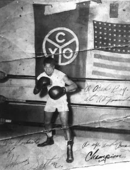 CYO Boxer at Mercy Home.