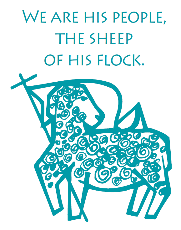 Lamb photo promoting kindness