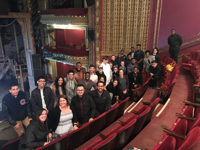 "Mercy Home kids seeing ""Hamilton"""
