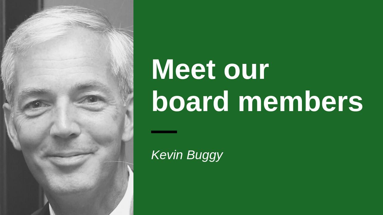 Headshot of board member Kevin Buggy