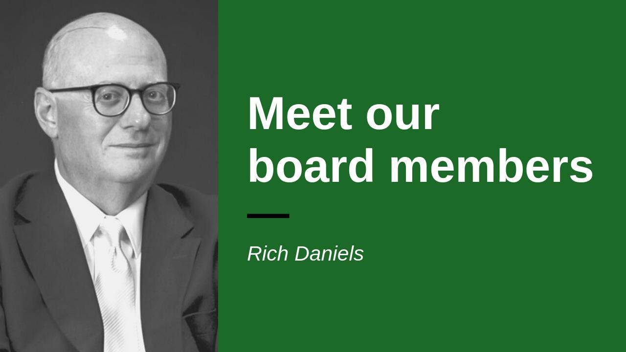 Headshot of board member Rich Daniels