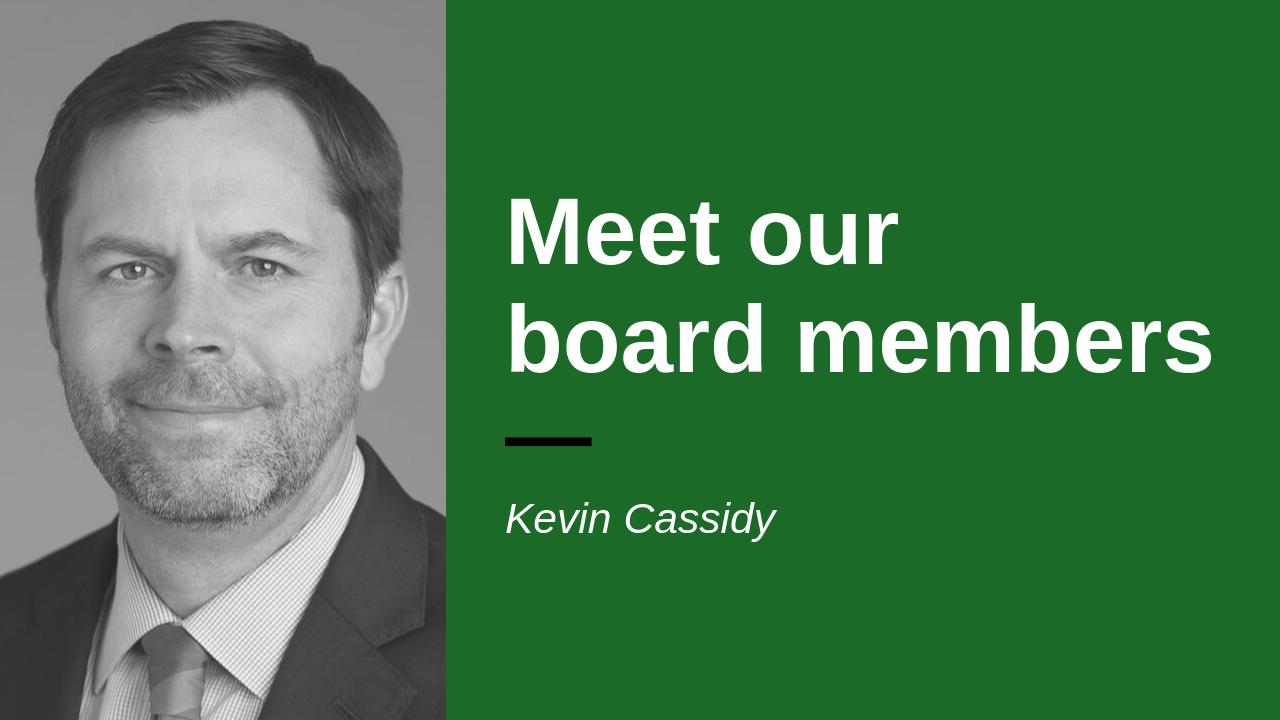 Headshot of board member Kevin Cassidy