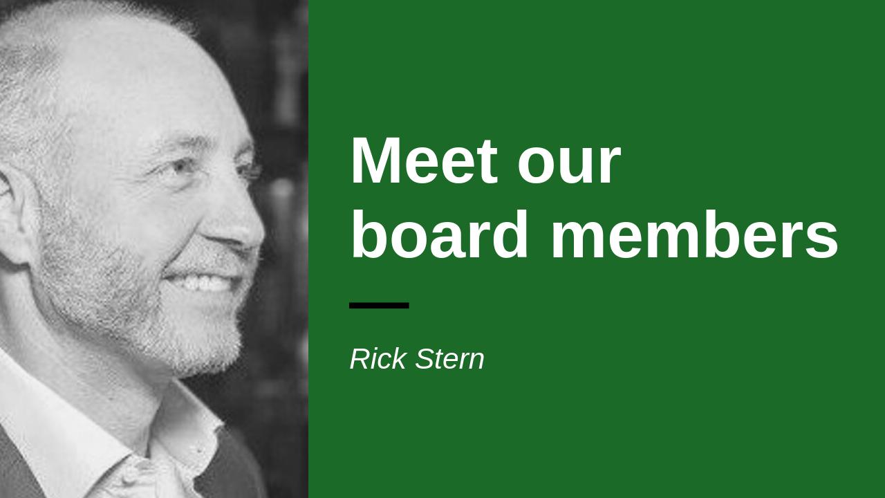 Headshot of board member Rick Stern