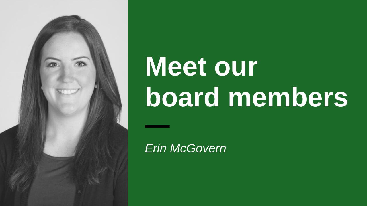 Headshot of board member Erin McGovern