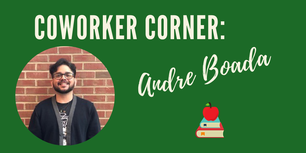 Coworker Corner: headshot of Andre Boada