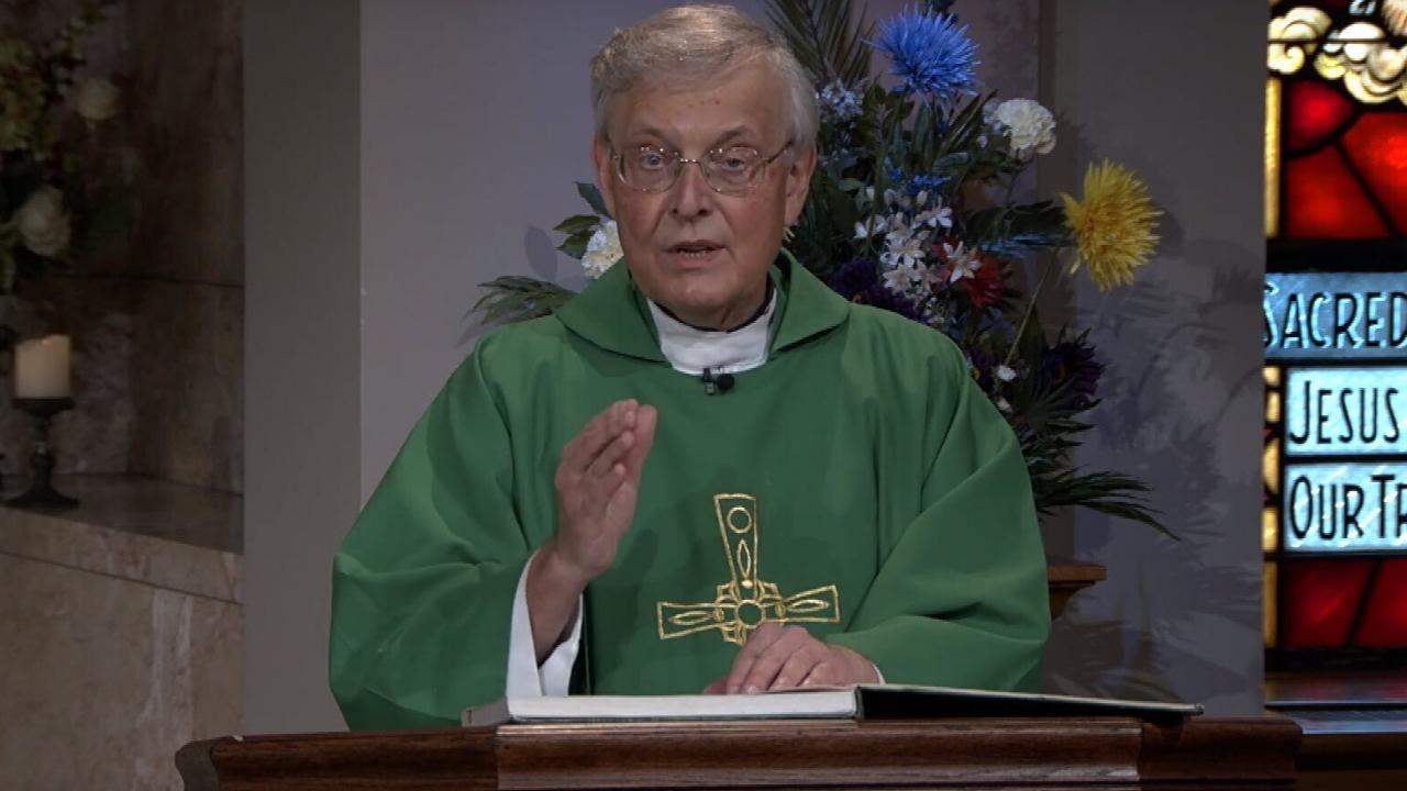 Fr. Greg Sakowicz preaching