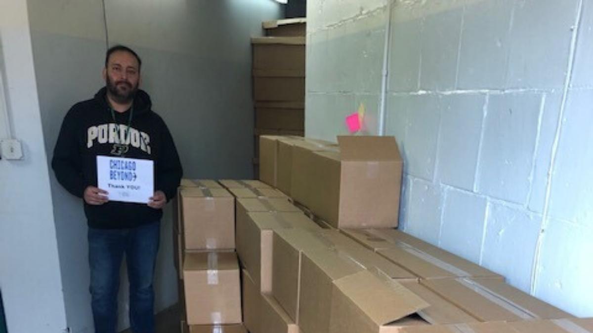 donating supplies