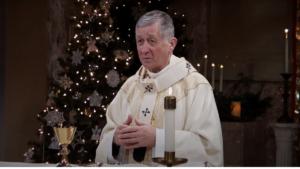 Cardinal Blase Cupich preaching