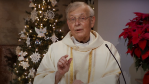 Very Rev. Greg Sakowicz preaching