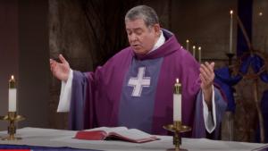 Fr. Scott Donahue preaching